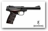 Buck Mark Plus Rosewood cal 22 LR klik om te vergroten ->