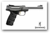 Buck Mark Plus Stainless cal 22 LR klik om te vergroten ->