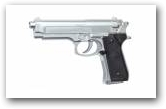 Pistolet Soft Air Beretta 92FS Nicklelé klik om te vergroten ->
